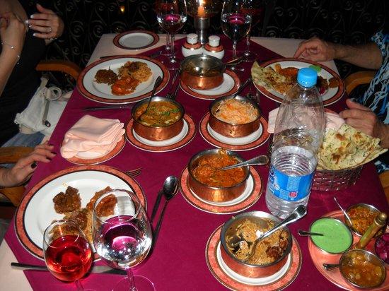 Movenpick Resort Sharm El Sheikh Naama Bay : Cuisine indienne