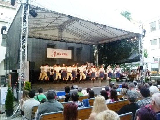 ONDRAS - the 'Military Artistic Ensemble: summer folk concerts organized by ONDRAS