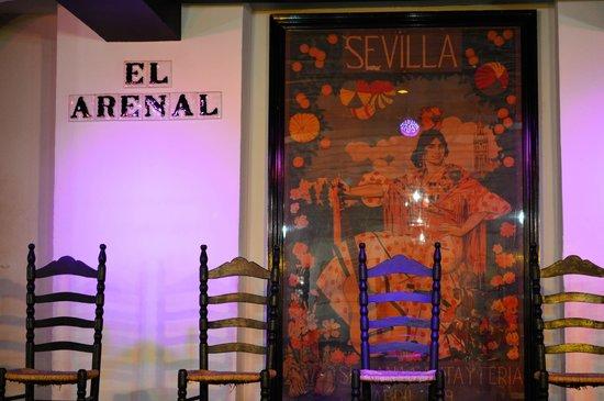 Tablao Flamenco El Arenal : palco do show