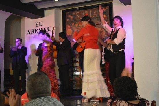 Tablao Flamenco El Arenal : artistas