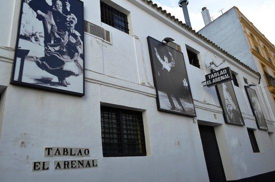 Tablao Flamenco El Arenal : fachada do local