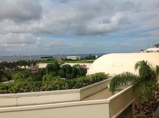 Marriott Cancun Resort: View from my room 3073