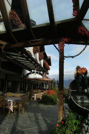 Granpanorama Hotel StephansHof: ingresso dal bar