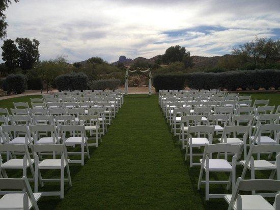 Rancho de los Caballeros : Wedding Ceremony