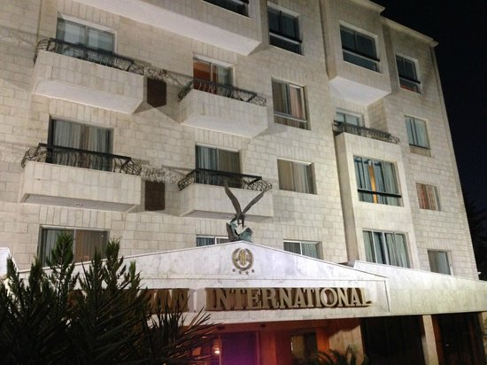 Amman International Hotel: außenansicht