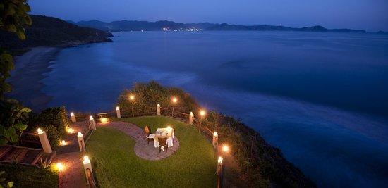 Punta Serena: Cena romántica