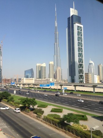 Villa Rotana - Dubai: View from our suite