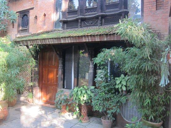 Dwarika's Hotel: Entrance to room 105