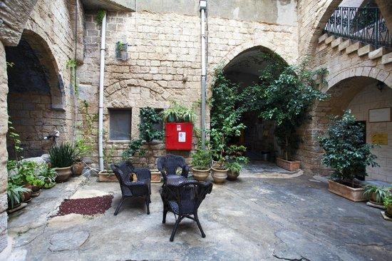 The Fauzi Azar Inn: Open court yard