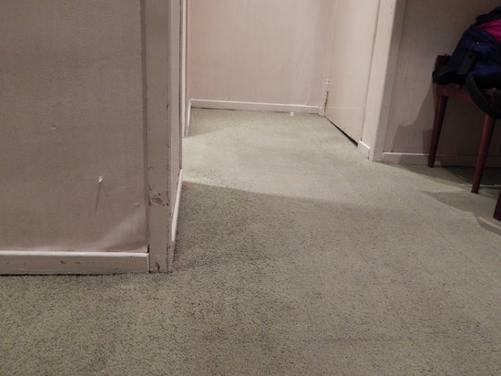 Turim Restauradores Hotel: This picture doesn't do the gross carpet justice.