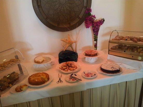 Il Saraceno Grand Hotel: Colazione eccezionale