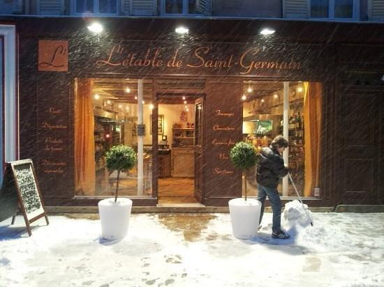 St-Germain-en-Laye, Frankreich: L'étable en hiver