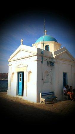 Leonis Summer Houses: Mykonos Church