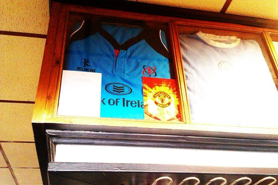 Rugby Tavern: pride of place lol
