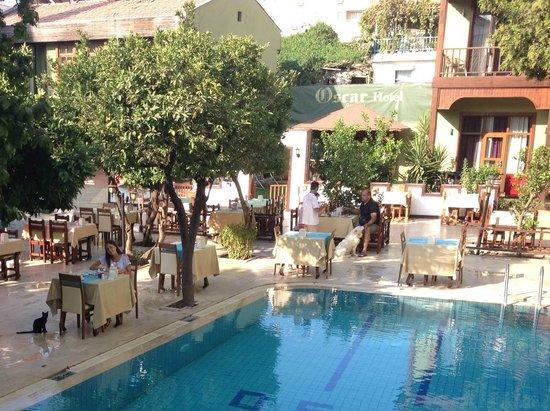 Oscar Boutique Hotel: Вид из номера
