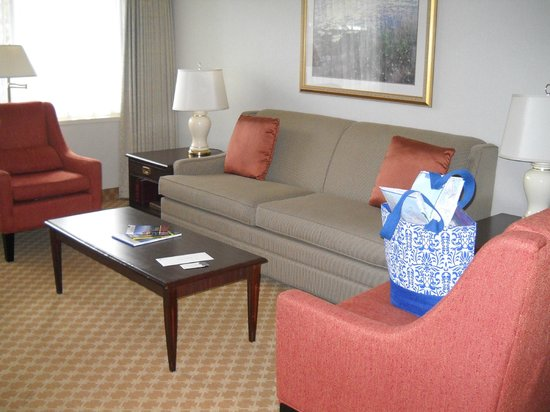 Royal Scot Hotel & Suites: Nice quiet place to read