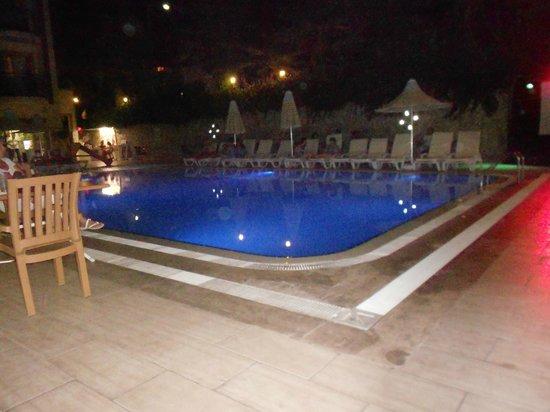 Astoria Hotel : Вечерний бассейн