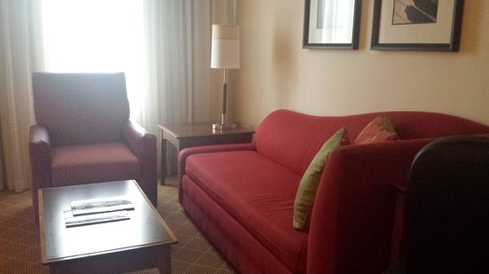Residence Inn Philadelphia Conshohocken: Living area