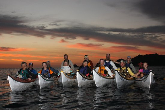 Paddling South: Sunrise paddling