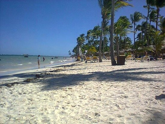 Catalonia Bavaro Beach, Casino & Golf Resort : playas de arenas blancas