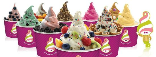 Menchie's Taylor Court: 14 rotating flavors with over 50 toppings to make a different mix each time