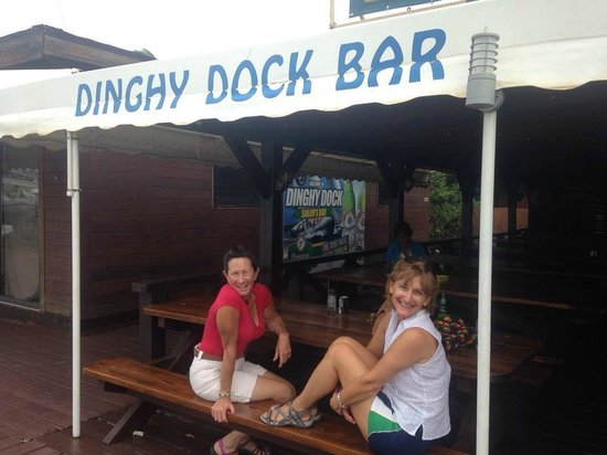 Dinghy Dock Bar OP: Ready for lunch...