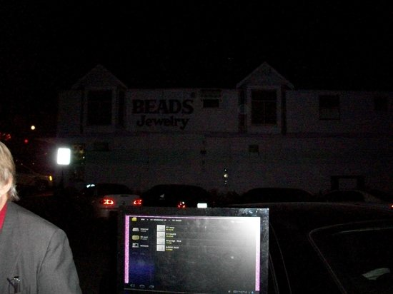 Ghosts of Branson : Listening to some awesome EVS while waiting for the women to show in the upstairs window!