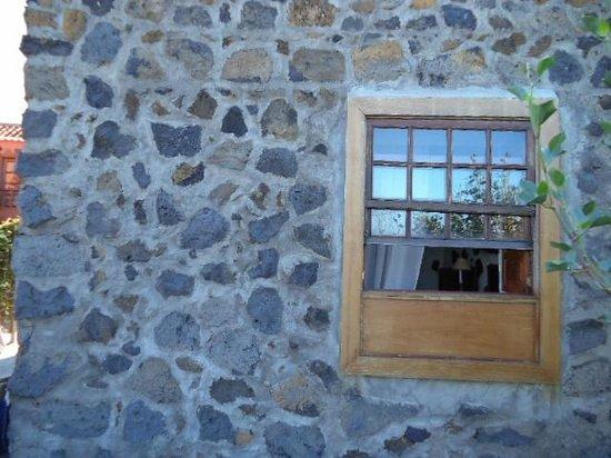 Sombrero Pico Casas : ventana habitacion