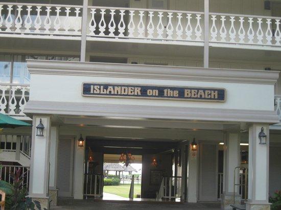 Aston Islander on the Beach: Entrance to lobby