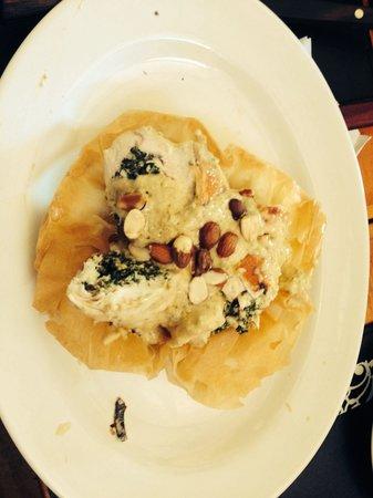 La Cantina del Puertito: Pollo arrollado a la canasta