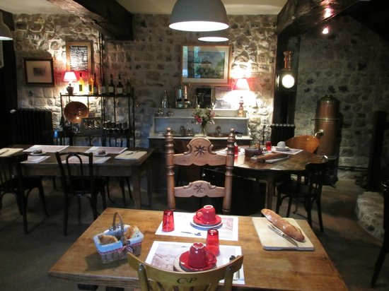 La Cour Sainte-Catherine: breakfast room
