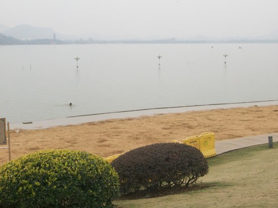 Yunlong Lake : spiaggia