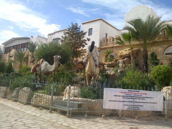 Yasmin Hammamet: front of medina