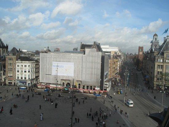 Vista aerea foto di dam square amsterdam tripadvisor for Hotel amsterdam economici piazza dam