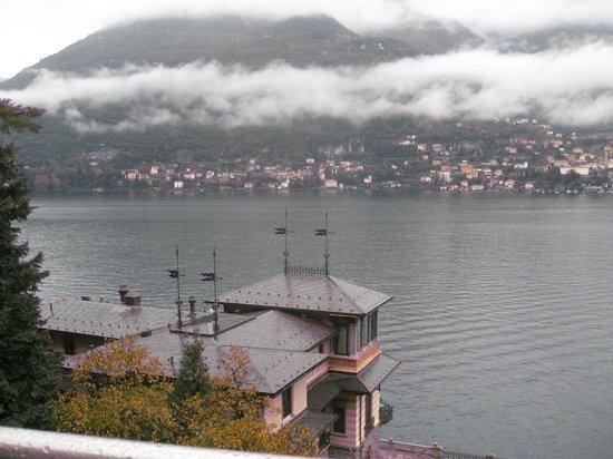 Casta Diva Resort & SPA : Вид из номера утром