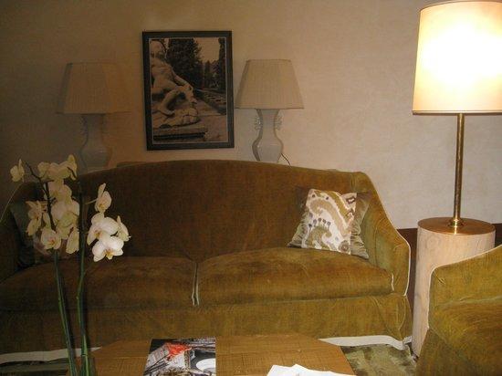 Casta Diva Resort & SPA : Уголок гостиной