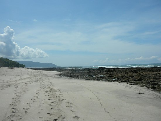 Latitude 10 Exclusive Beach Resort: Here's the beach at low tide.