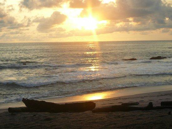 Latitude 10 Beachfront Resort : Awesome sunset :)