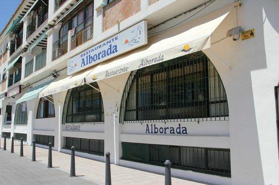 Fachada Restaurante Alborada