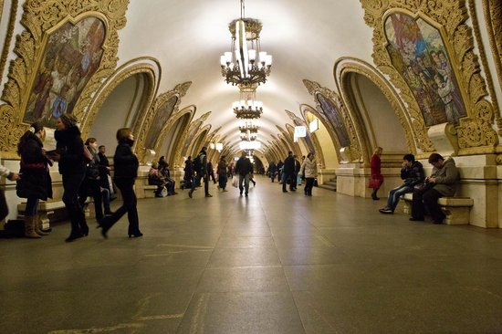 Moscow Private Tours : Moscow Metro