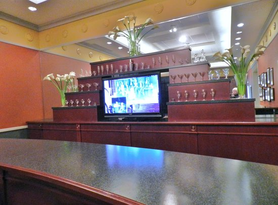 Indiana Historical Society : The bar in the Cole Porter display