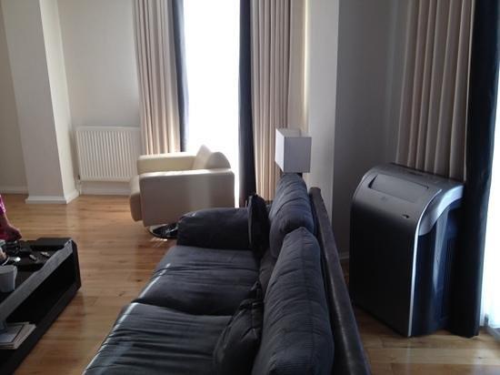 Chelsea Bridge Apartments : lounge area