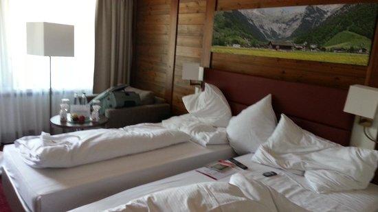 H+ Hotel & SPA Engelberg: la chambre