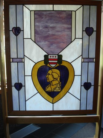 National Purple Heart Hall Of Honor: Stained Glass Window