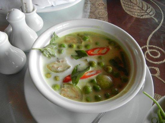 Baan Karonburi Resort: Green Curry. it was ok