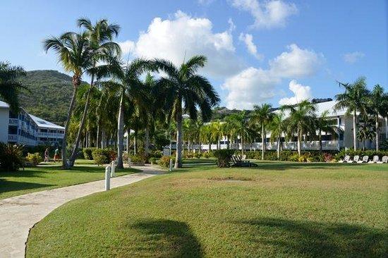 Hotel Riu Palace St Martin : Hotel grounds