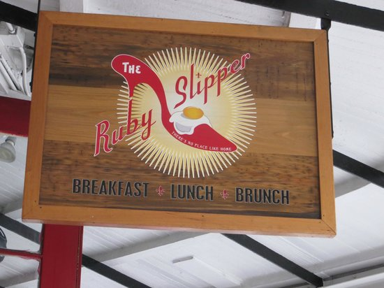 The Ruby Slipper Cafe: The Ruby Slipper
