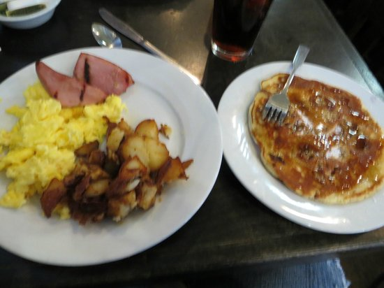 The Ruby Slipper Cafe: My breakfast