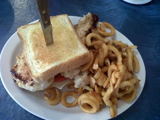 Chippewa Lake, MI: Chicken Breast Sandwich
