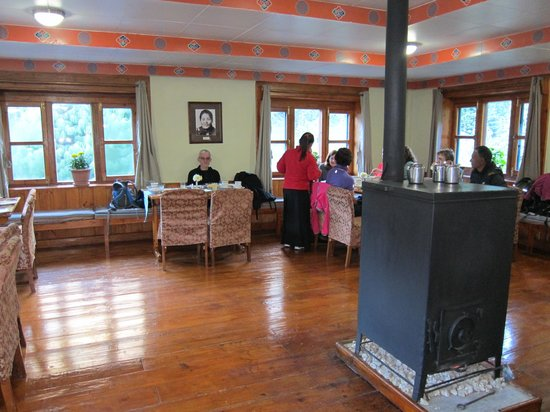 Everest Summit Lodge Monjo: At breakfast